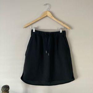 High waisted casual skirt